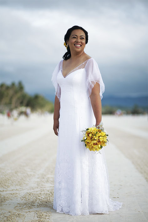 boracay bride
