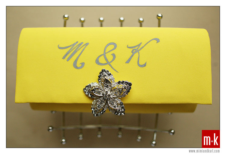 Niko's Yellow Handbag
