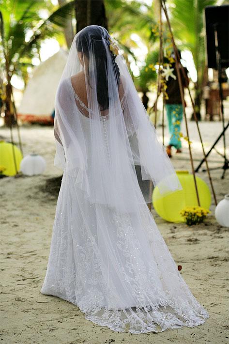 Mimi's Veluz Gown