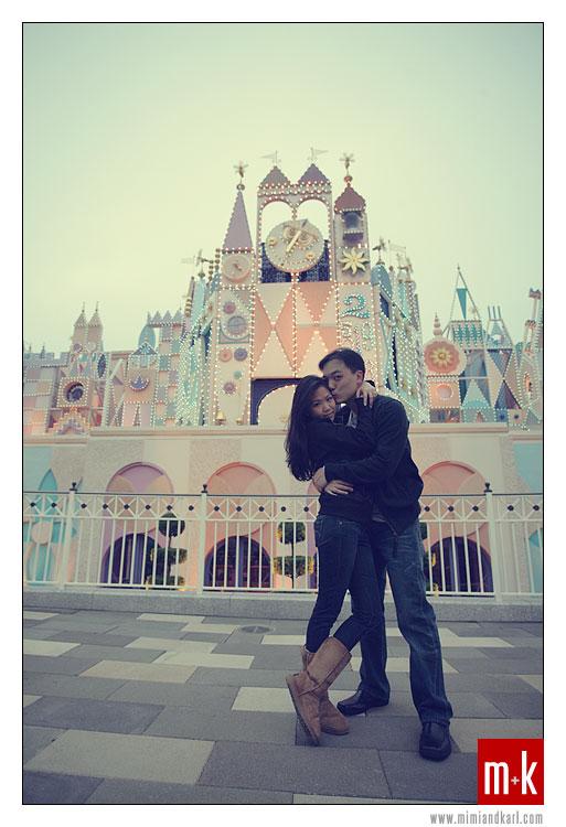 Hong Kong Disneyland Engagement