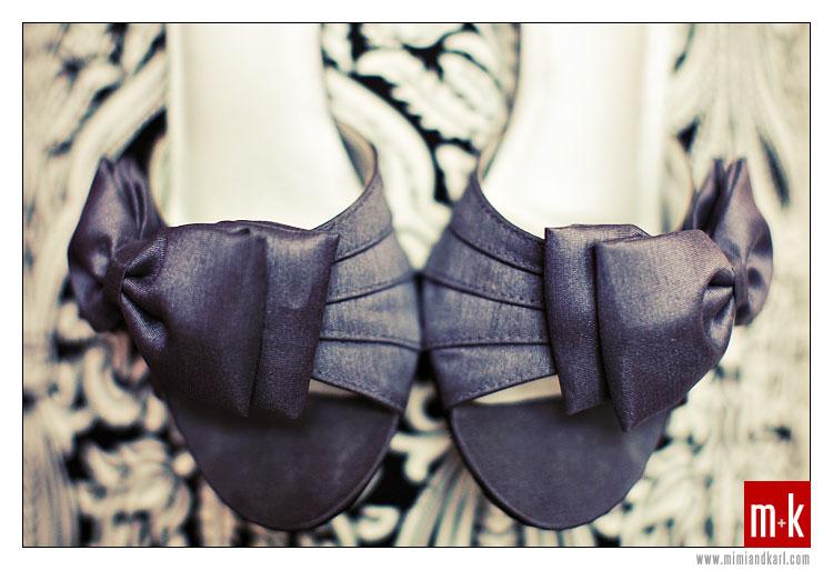 gray bridal shoes