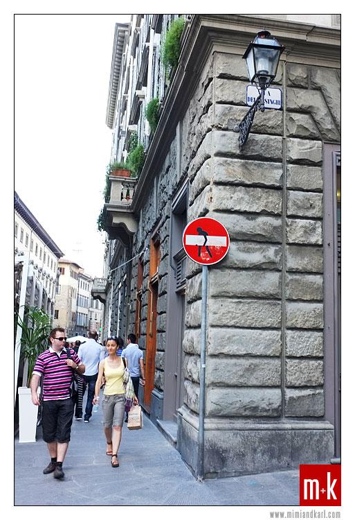 Firenze stop sign