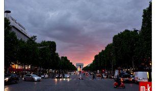Arc de Triomphe, Champs Elysees, Paris, France