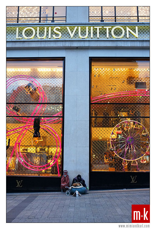 Louis Vuitton, Champs Elysees, Paris, France