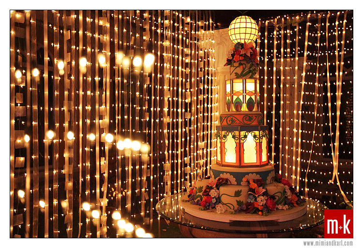lantern cake