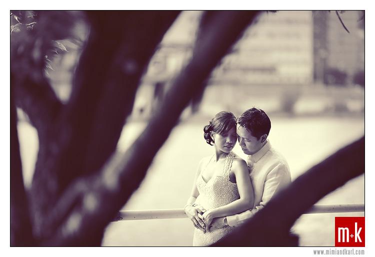 wedding gown and barong tagalog