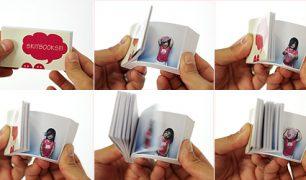 Skitbooks, flipbook souvenirs